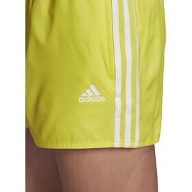 adidas 3S CLX VSL Short Homme, shock yellow